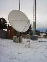 Highlight for Album:  Fort Severn VSAT Project